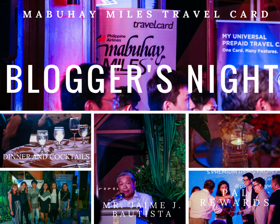 PAL Mabuhay Miles Travel Card Bloggers Night Ching Sadaya blog