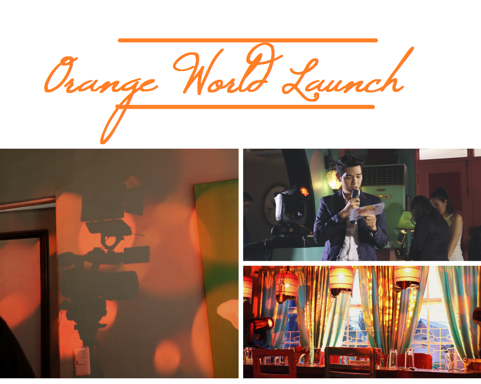FWD - Orange World lifestyle rewards app launch - la vie cebu - doyzkie - host - ching sadaya blog