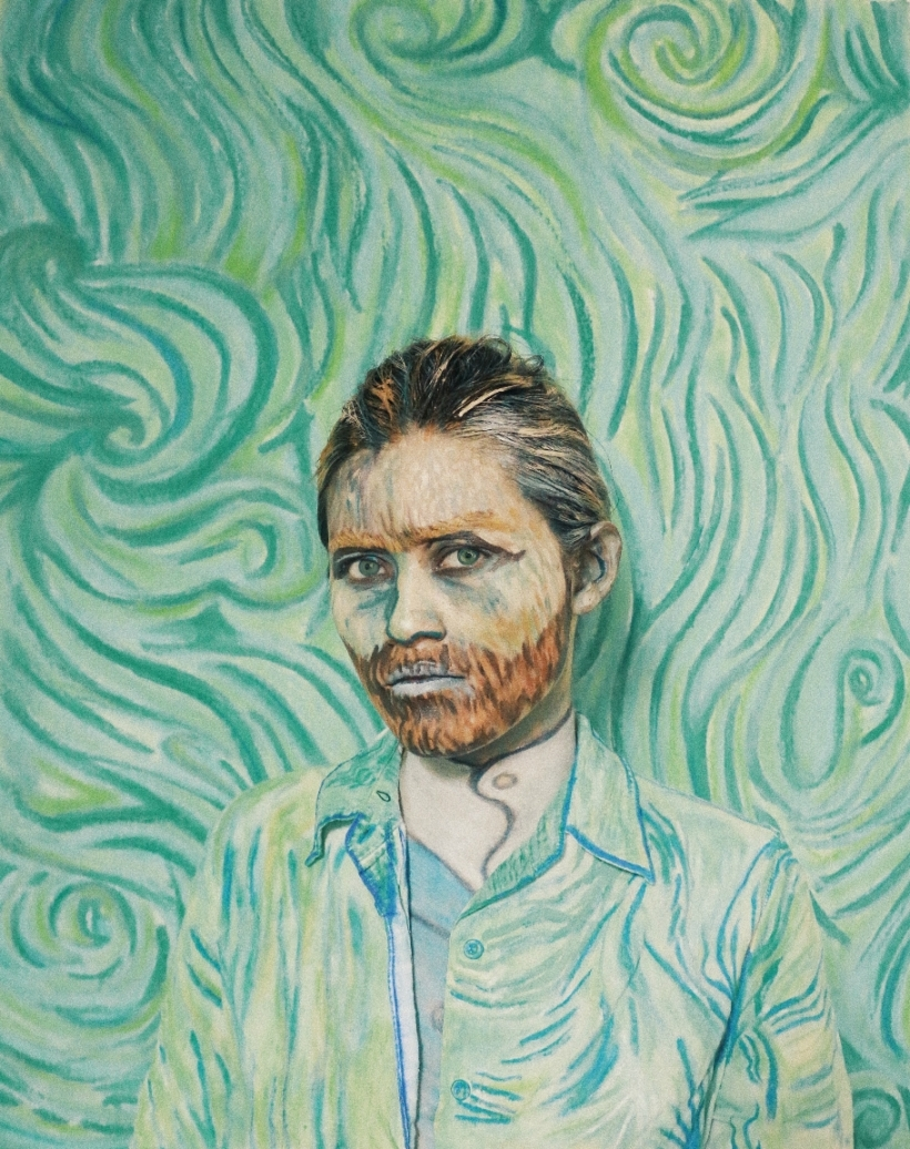 Halloween 2017 -Vincent Van Gogh resized 2 - Ching Sadaya Blog