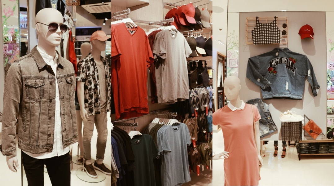 Penshoppe Ayala Center Cebu reopening - New Collection Display - Ching Sadaya blog