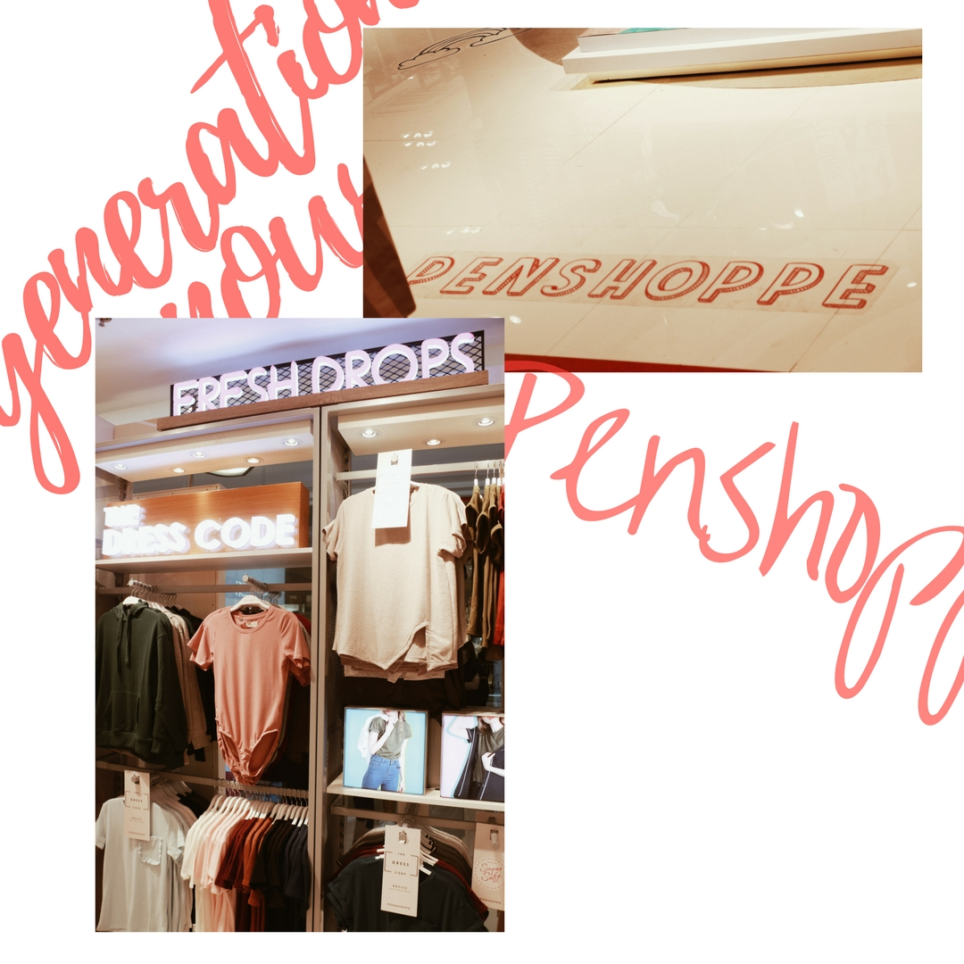 Penshoppe Ayala Center Cebu reopening - generation now- womens section - Ching Sadaya blog
